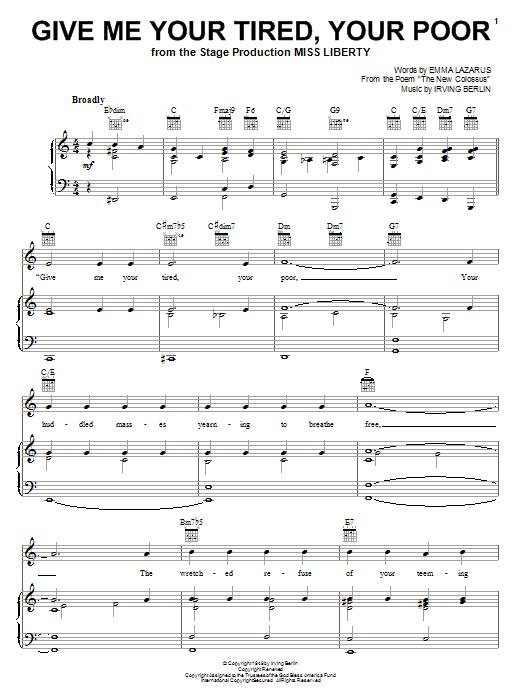 Sheet Music Digital Files To Print Licensed Irving Berlin Digital