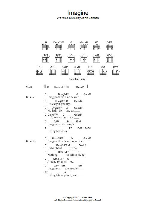 Imagine by Eva Cassidy - Guitar Chords/Lyrics - Guitar Instructor
