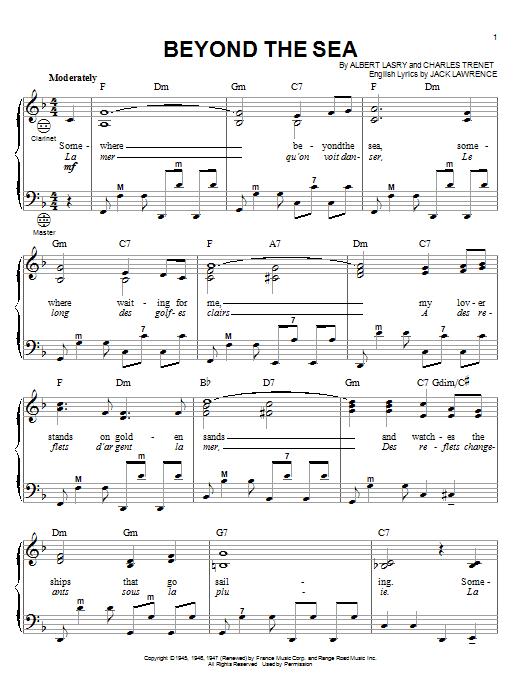 Partition autre Beyond The Sea de Gary Meisner - Accordeon