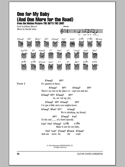 Sheet Music Digital Files To Print Licensed Frank Sinatra Digital