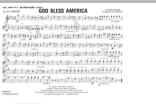 picture about Free Printable God Bless America Sheet Music named God Bless The usa