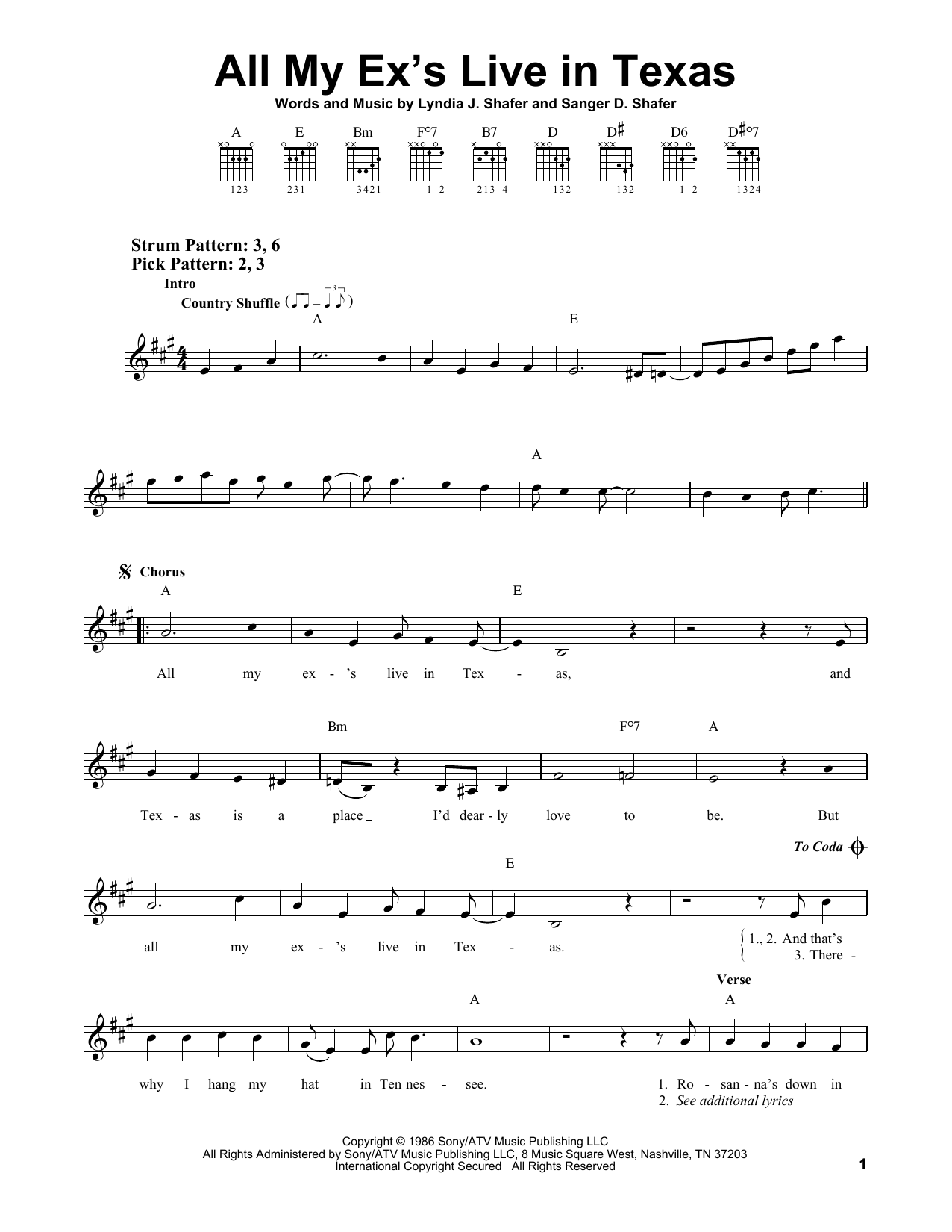 Sheet Music Digital Files To Print Licensed Sanger D Shafer