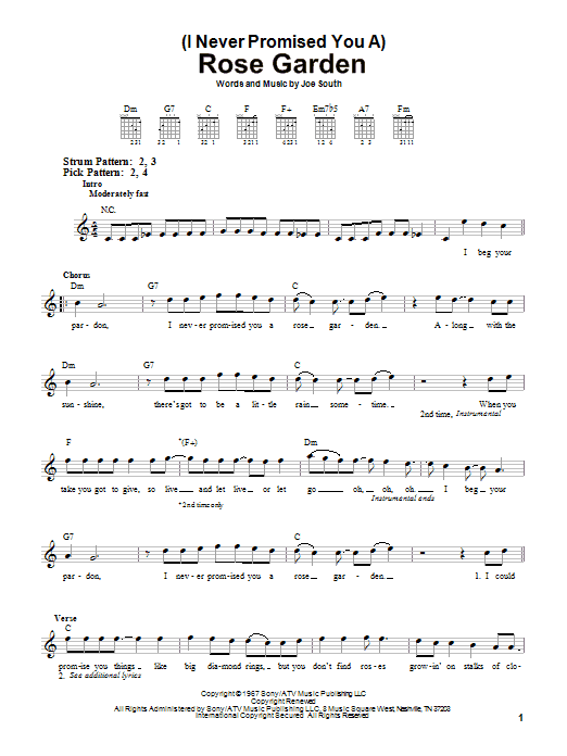 Sheet Music Digital Files To Print - Licensed Lynn Anderson Digital ...
