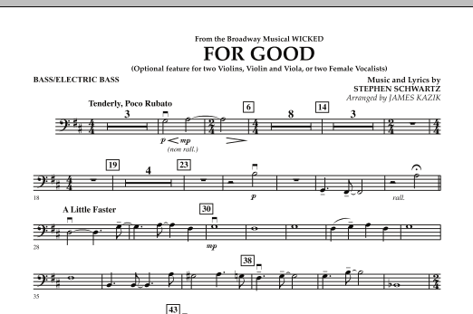 wicked full orchestral score pdf download
