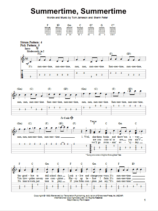 Sheet Music Digital Files To Print Licensed Easy Guitar With Tab