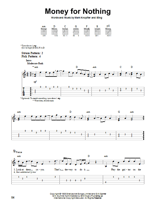 Dire Straits Money For Nothing Chords - Mediawiki.club