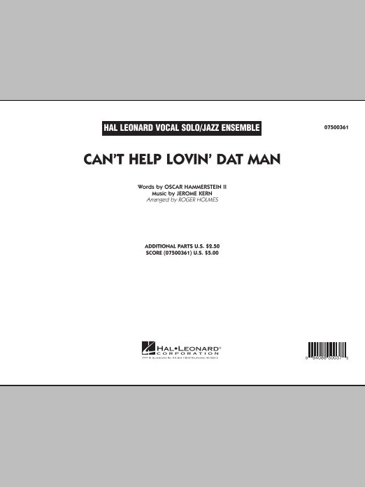 Can't Help Lovin' Dat Man (COMPLETE) sheet music for jazz band by Roger Holmes