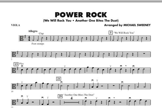 Power Rock Viola Sheet Music At Stantons Sheet Music