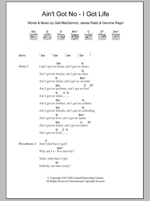 Sheet Music Digital Files To Print Licensed Galt Macdermot Digital