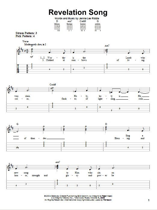 Sheet Music Digital Files To Print - Licensed Gateway Worship ...