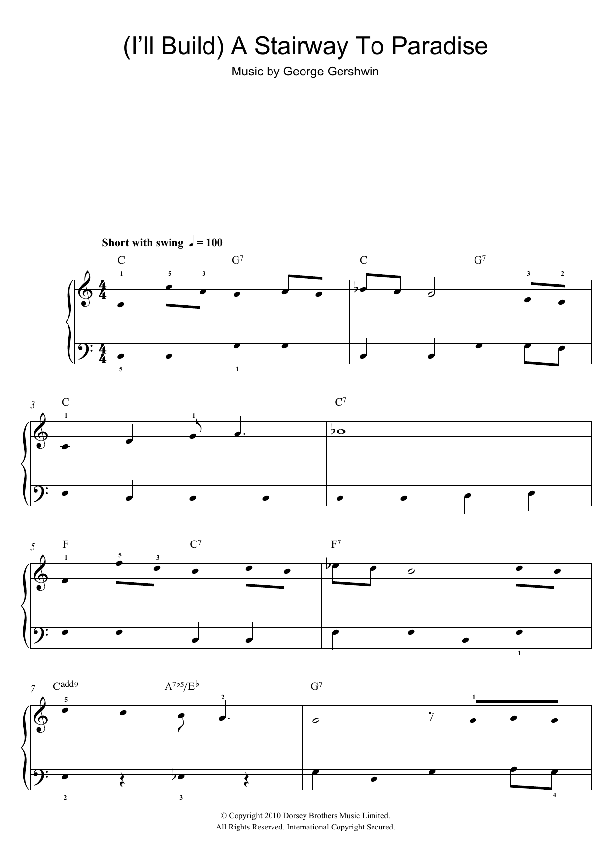 Sheet Music Digital Files To Print - Licensed Easy Piano Digital ...