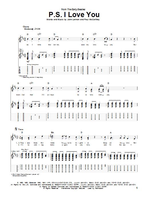 Sheet Music Digital Files To Print - Licensed Guitar TAB Digital ...