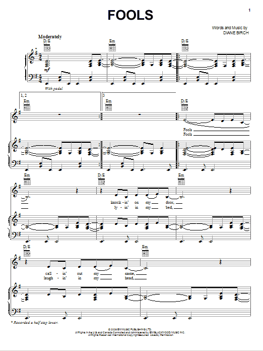 Sheet Music Digital Files To Print - Licensed Pop Digital Sheet Music