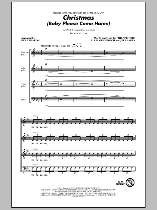 Sheet Music Digital Files To Print - Licensed Phil Spector Digital ...