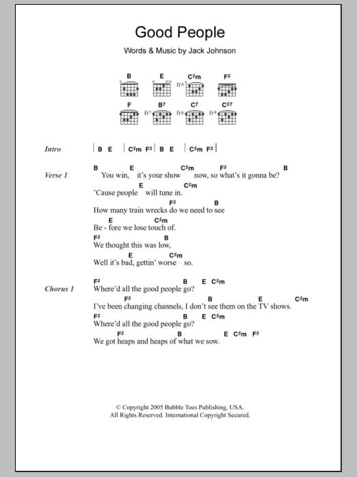 Sheet Music Digital Files To Print Licensed Jack Johnson Digital