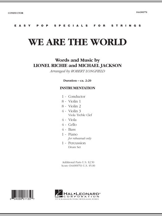words to we are the world