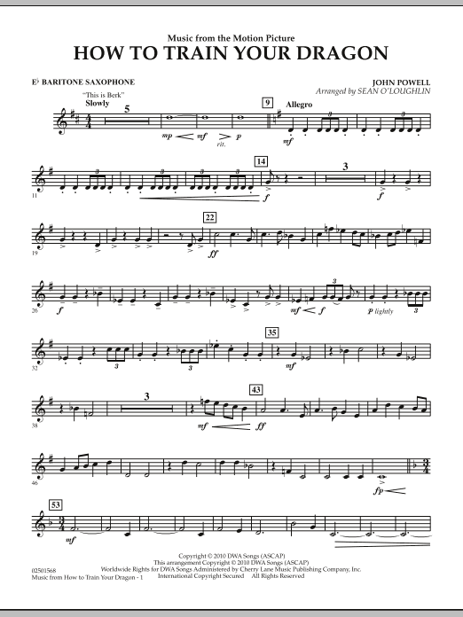 how to train your dragon this is berk sheet music