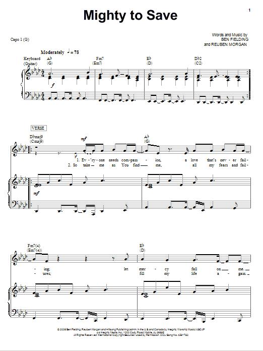 Sheet Music Digital Files To Print - Licensed Ben Fielding Digital ...