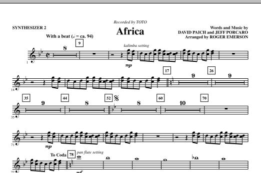Sheet Music Digital Files To Print Licensed Toto Digital Sheet Music