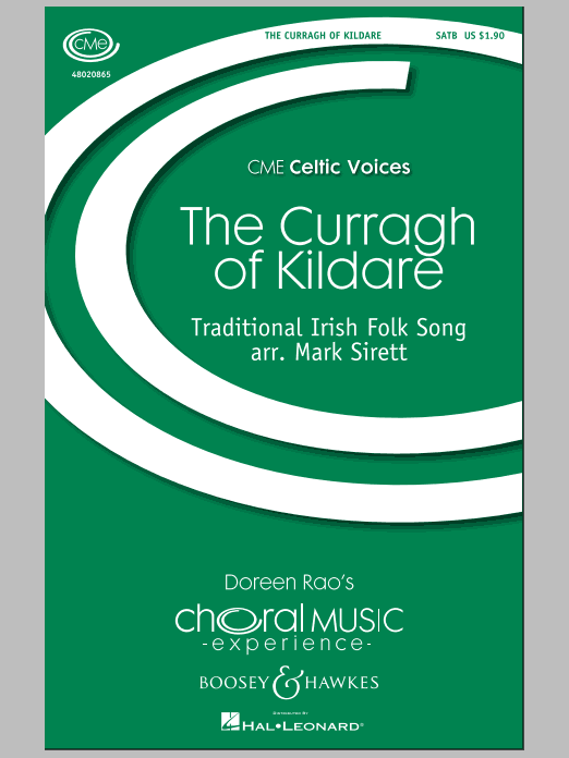 Partition chorale The Curragh Of Kildare de Mark Sirett - SATB