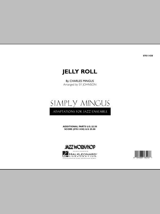 Jelly Roll (COMPLETE) sheet music for jazz band by Sy Johnson