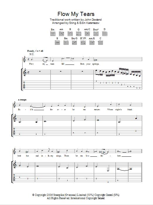 Sting - Flow My Tears