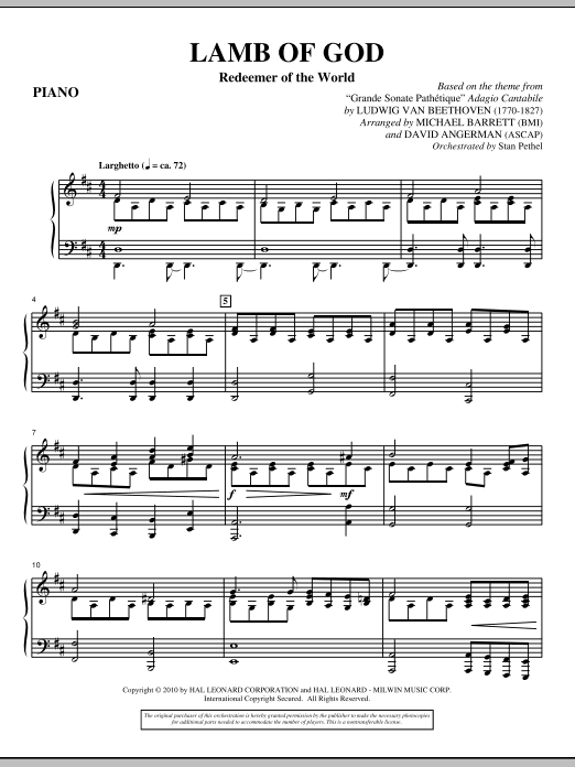 worthy is the lamb chords pdf