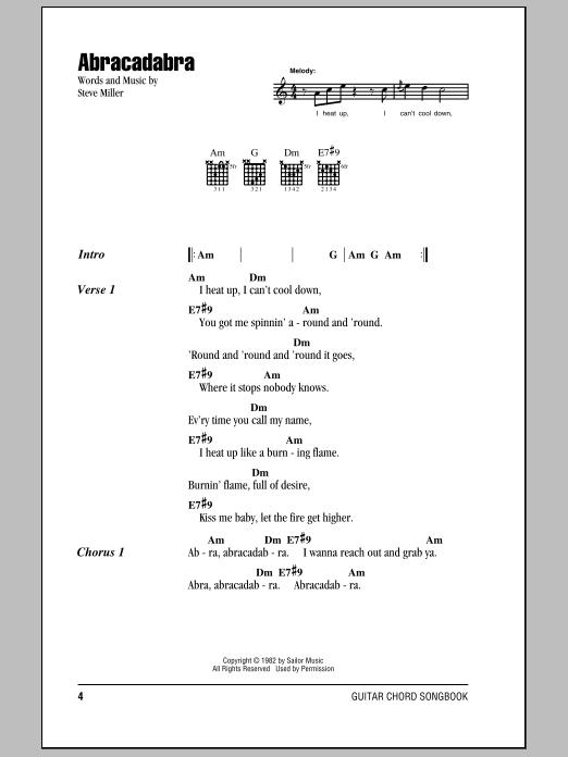 Sheet Music Digital Files To Print - Licensed Steve Miller Digital ...