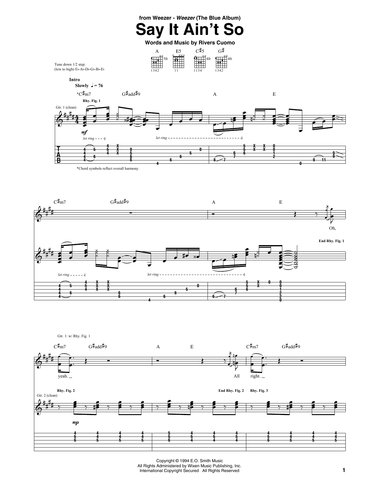 it aint me babe guitar tabs № 277342