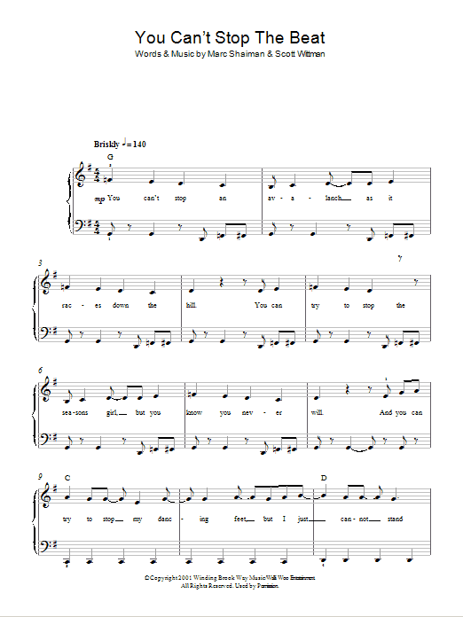 can t stop the feeling lead sheet pdf