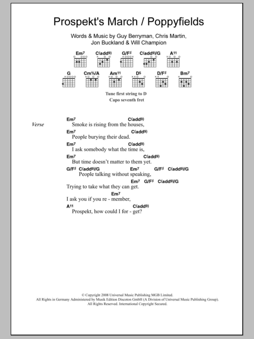 Sheet Music Digital Files To Print - Licensed Jon Buckland Digital ...