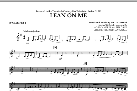 Lean On Me Lead Sheet Ottodeemperor