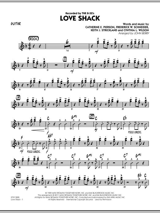 Sheet Music Digital Files To Print - Licensed The B-52\'s Digital ...