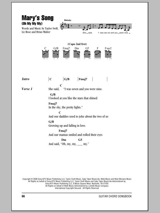 Sheet Music Digital Files To Print - Licensed Taylor Swift Digital ...