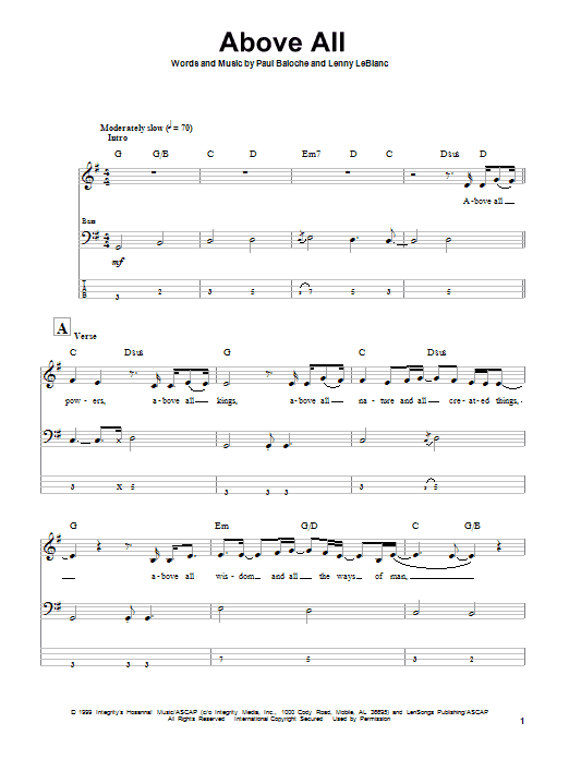 Sheet Music Digital Files To Print - Licensed Lenny LeBlanc Digital ...