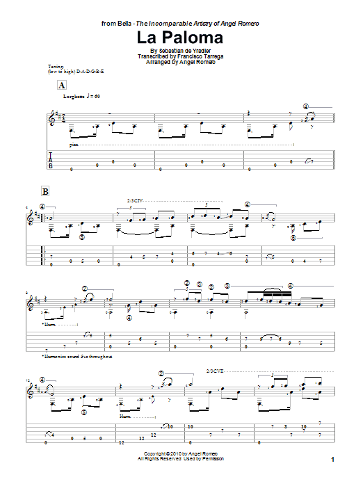 Sheet Music Digital Files To Print - Licensed Solo Guitar Digital ...