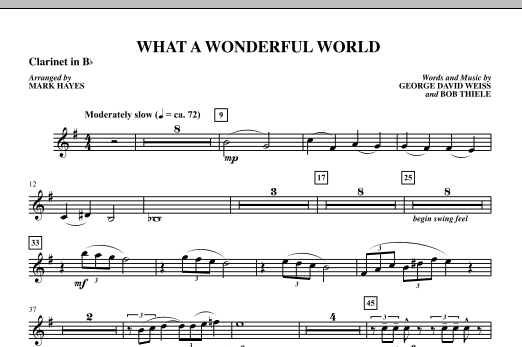 Wonderful world guitar chords