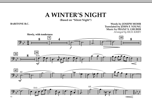 A Winters Night Based On Silent Night