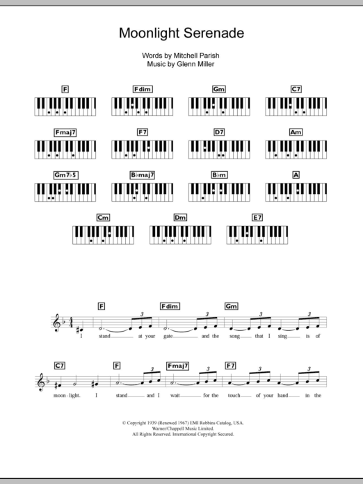 Sheet Music Digital Files To Print Licensed Piano Chordslyrics