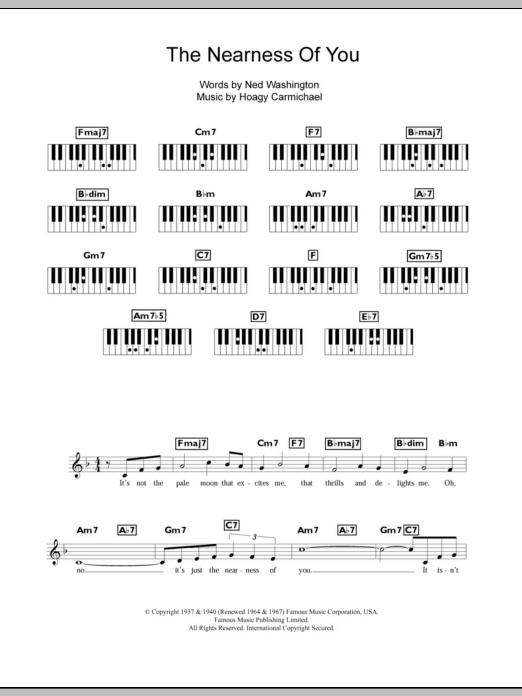 Sheet Music Digital Files To Print Licensed Hoagy Carmichael