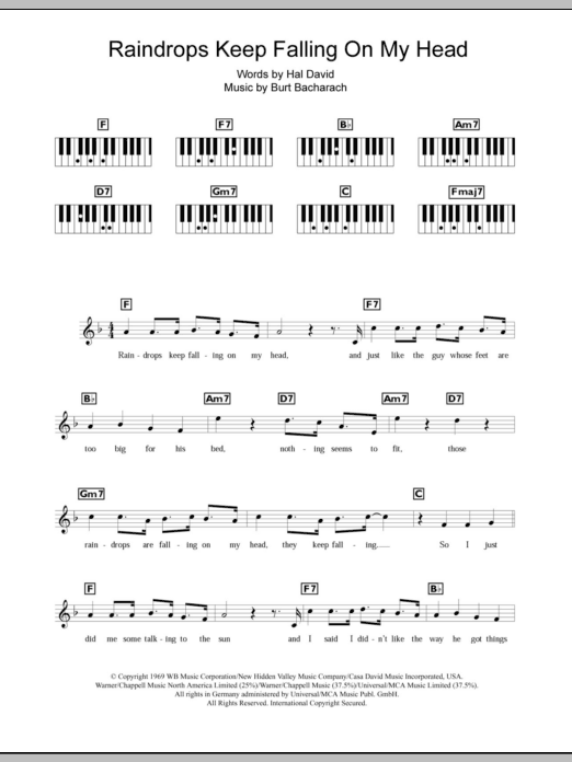 Piano Chord - Oldies at Stanton\'s Sheet Music