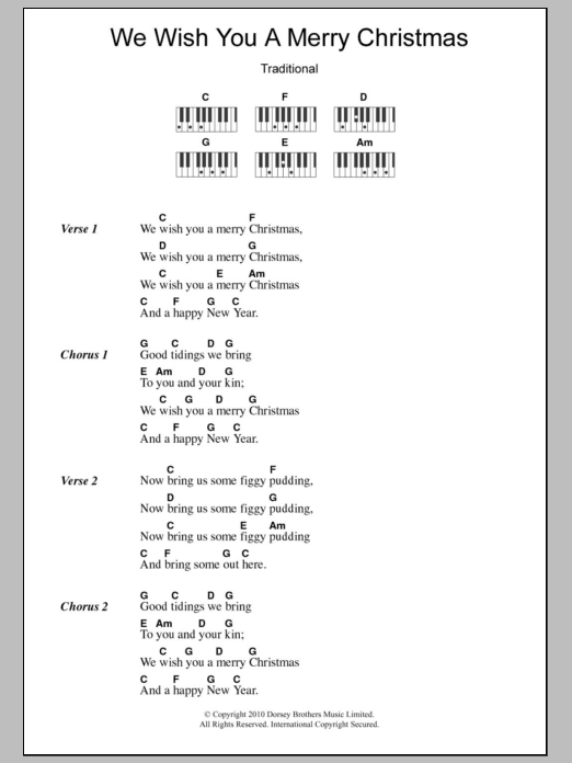 Sheet Music Digital Files To Print - Licensed Traditional English ...