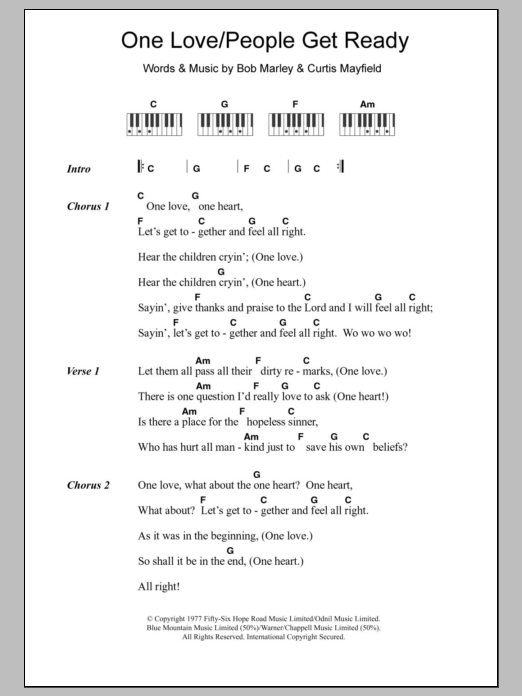 Piano Chord At Stantons Sheet Music