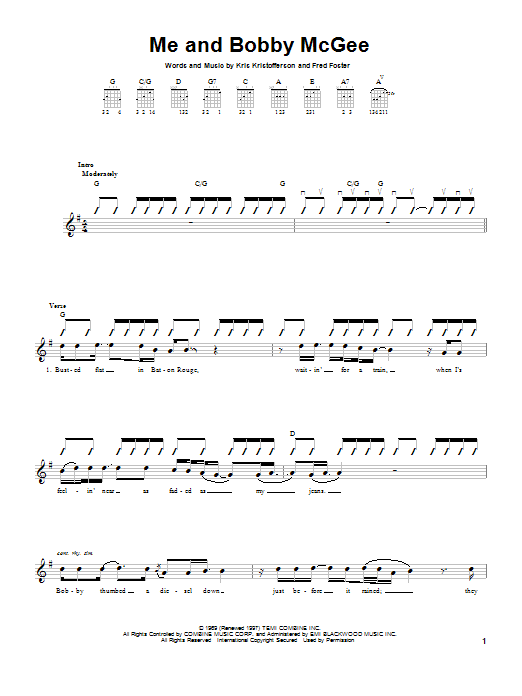 Sheet Music Digital Files To Print - Licensed Fred Foster Digital ...