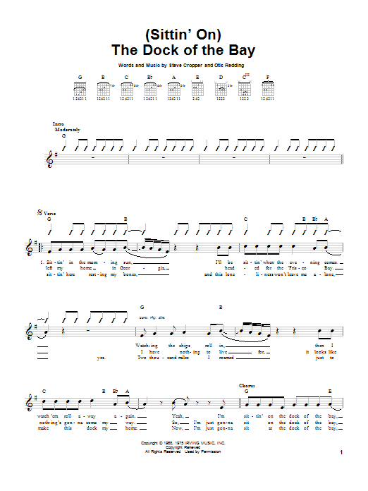 Sheet Music Digital Files To Print - Licensed Easy Guitar Digital ...