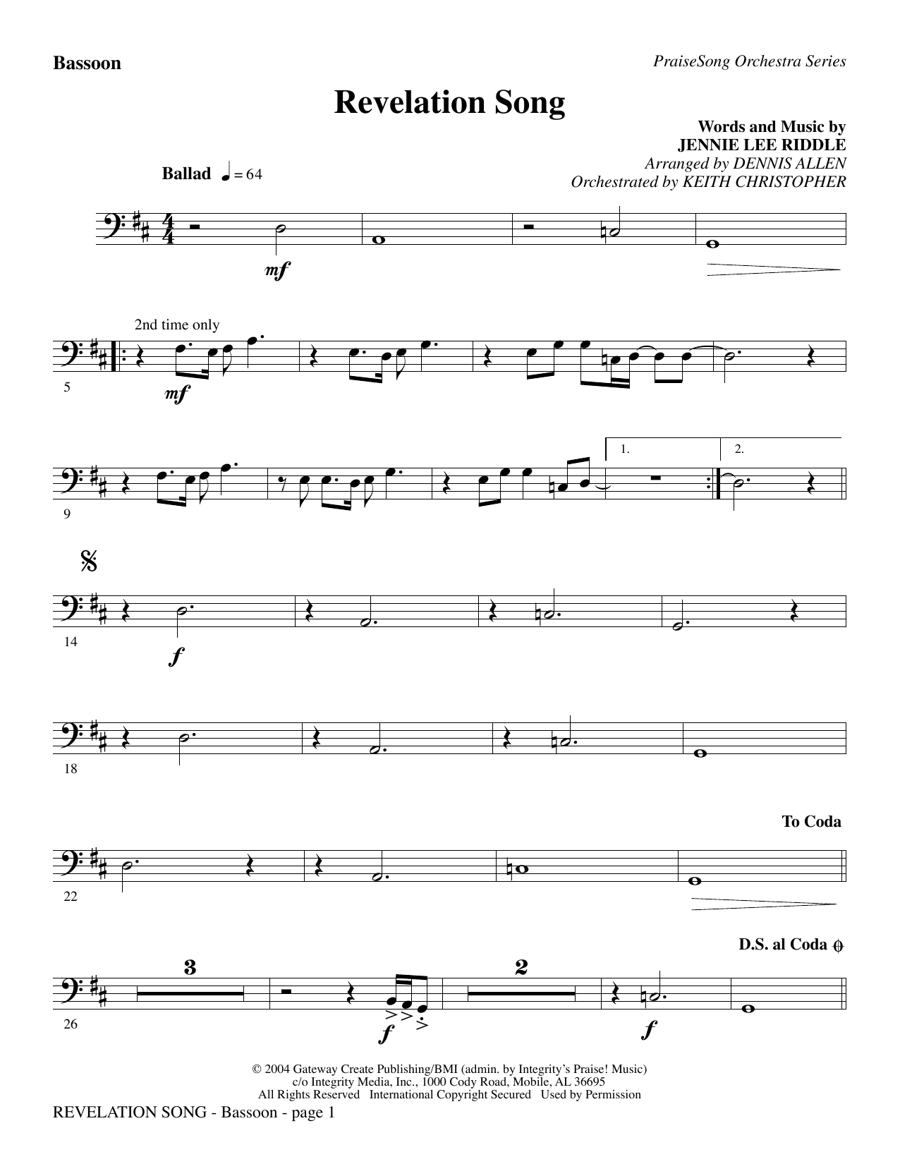 Revelation Song (Chords) - Ultimate Guitar Archive