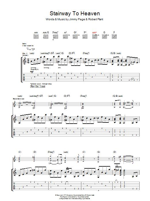 Guitar guitar tablature for stairway to heaven : stairway to heaven ukulele tab f--f.info 2017