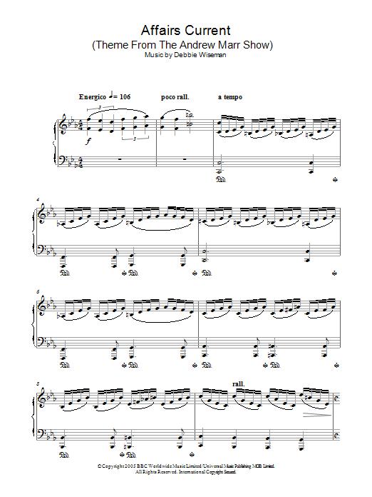 Sheet Music Digital Files To Print Licensed Debbie Wiseman Digital
