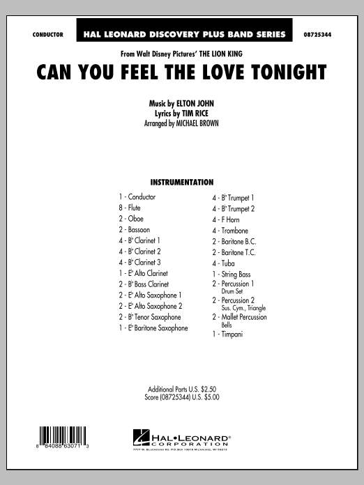 Can You Feel The Love Tonight? (from