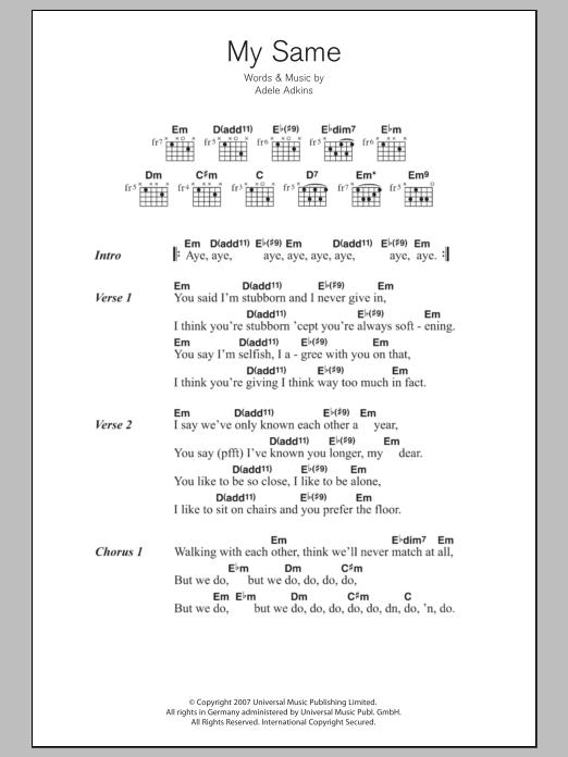 Sheet Music Digital Files To Print Licensed Adele Adkins Digital